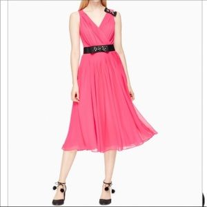 New Kate spade bow dress pink